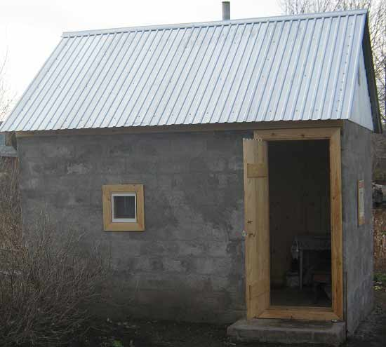 Баня из блоков 6х4 своими руками проекты фото фото 138